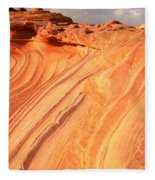 Coyote Buttes Sunset Glow Fleece Blanket
