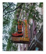 Coyote Ugly Saloon Nashville Fleece Blanket