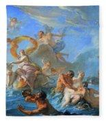 Coypel's The Abduction Of Europa Fleece Blanket