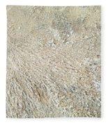 Crab Dugout Abstract Fleece Blanket