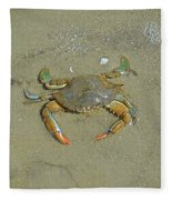 Crabby Fleece Blanket