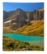 Cracker Lake Valley Fleece Blanket