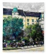 Cracow Art 2 Wawel Fleece Blanket