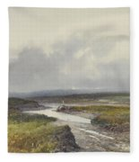 Cranmere Pool, Dartmoor Fleece Blanket