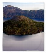 Crater Lake 1 Fleece Blanket
