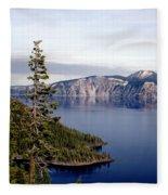 Crater Lake 3 Fleece Blanket