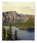 Crater Lake 6 Fleece Blanket