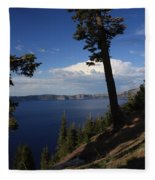 Crater Lake 7 Fleece Blanket