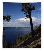 Crater Lake 7 Fleece Blanket