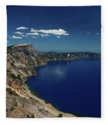 Crater Lake A Caldera Lake  Fleece Blanket