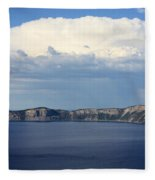 Crater Lake Fleece Blanket