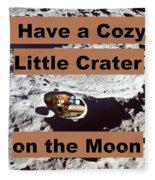 Crater1 Fleece Blanket