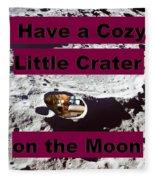 Crater11 Fleece Blanket