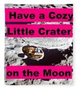 Crater12 Fleece Blanket