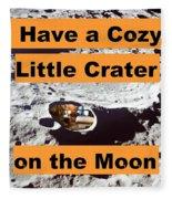 Crater16 Fleece Blanket