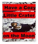 Crater2 Fleece Blanket