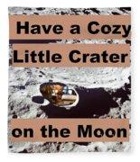 Crater26 Fleece Blanket