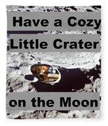 Crater27 Fleece Blanket