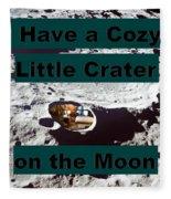 Crater28 Fleece Blanket