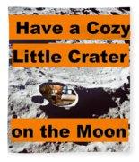 Crater3 Fleece Blanket