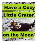 Crater39 Fleece Blanket