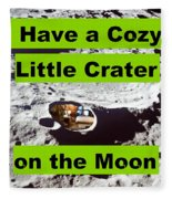 Crater5 Fleece Blanket