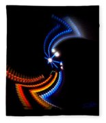 Crazy Dancer Fleece Blanket