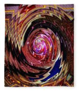 Crazy Swirl Art Fleece Blanket