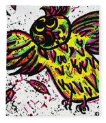 Crazybird Fleece Blanket