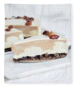 Cream Cake  Fleece Blanket