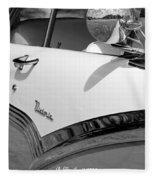 Creative Chrome - 1956 Ford Fairlane Victoria Fleece Blanket