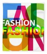 Creative Title - Fashion Fleece Blanket