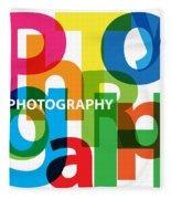 Creative Title - Photography Fleece Blanket