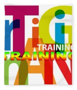 Creative Title - Training Fleece Blanket