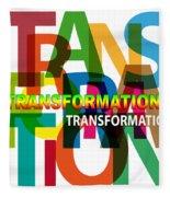 Creative Title - Transformation Fleece Blanket