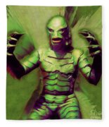 Creature From The Black Lagoon Fleece Blanket