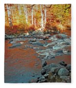 Creek 5  Fleece Blanket