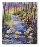 Creek Crossing Fleece Blanket