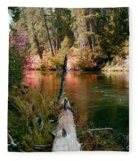 Creek Fall Fleece Blanket