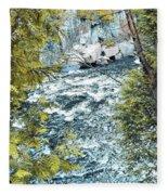 Creek  Fleece Blanket