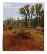 Creek Valley Beauty Fleece Blanket