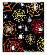 Creepy Crawlers Fleece Blanket