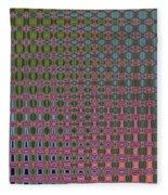Crepe Myrtle Abstract Fleece Blanket