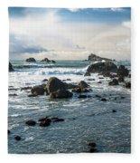 Crescent City Shoreline Fleece Blanket
