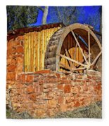 Crescent Moon Ranch Water Wheel Fleece Blanket