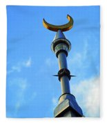 Crescent Of The Day Fleece Blanket