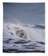 Crest Of A Wave Fleece Blanket