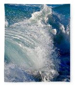 Cresting Wave Fleece Blanket