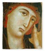 Crevole Madonna Fleece Blanket