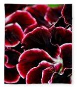 Crimson Propellers Fleece Blanket